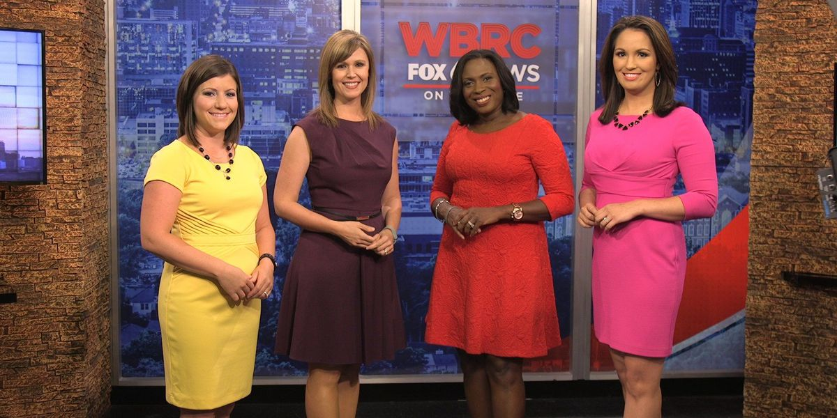 Monday marked WBRC's debut of 'The Four' Newscast