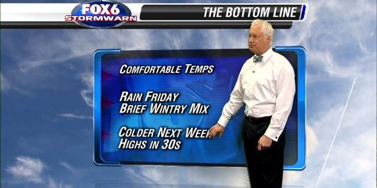More wintry weather in the forecast?