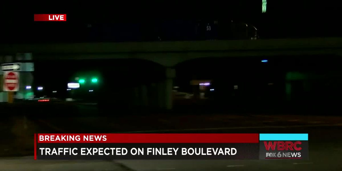 Traffic expected on Finley Blvd