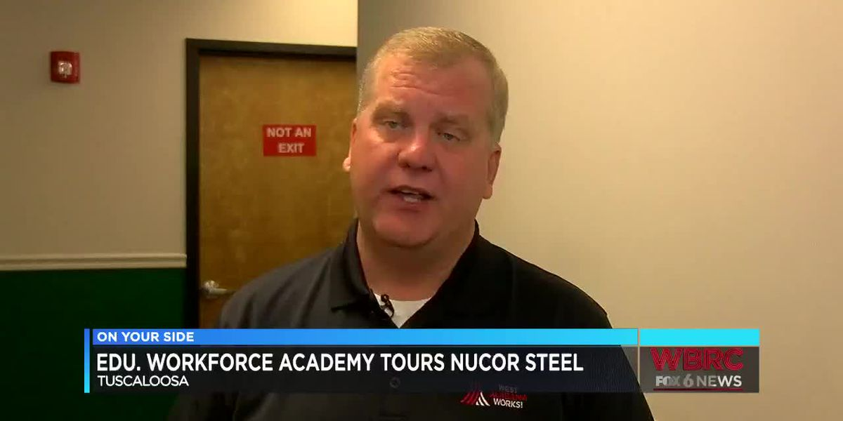 Nucor steel tour