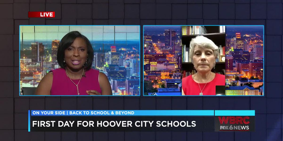 First day for Hoover City Schools