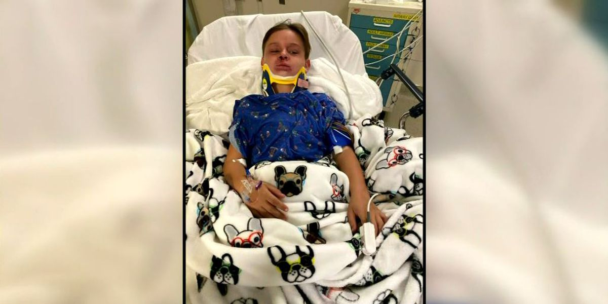 Mom saves 8-year-old son nearly suffocated in freak seat belt accident