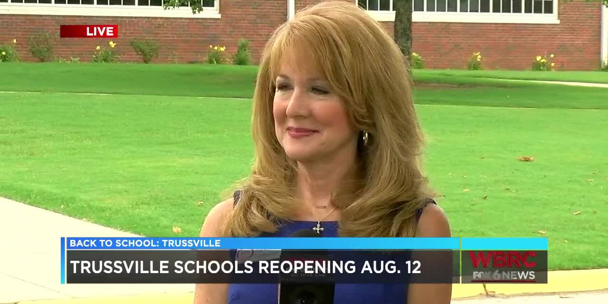 Trussville schools reopening Aug. 12