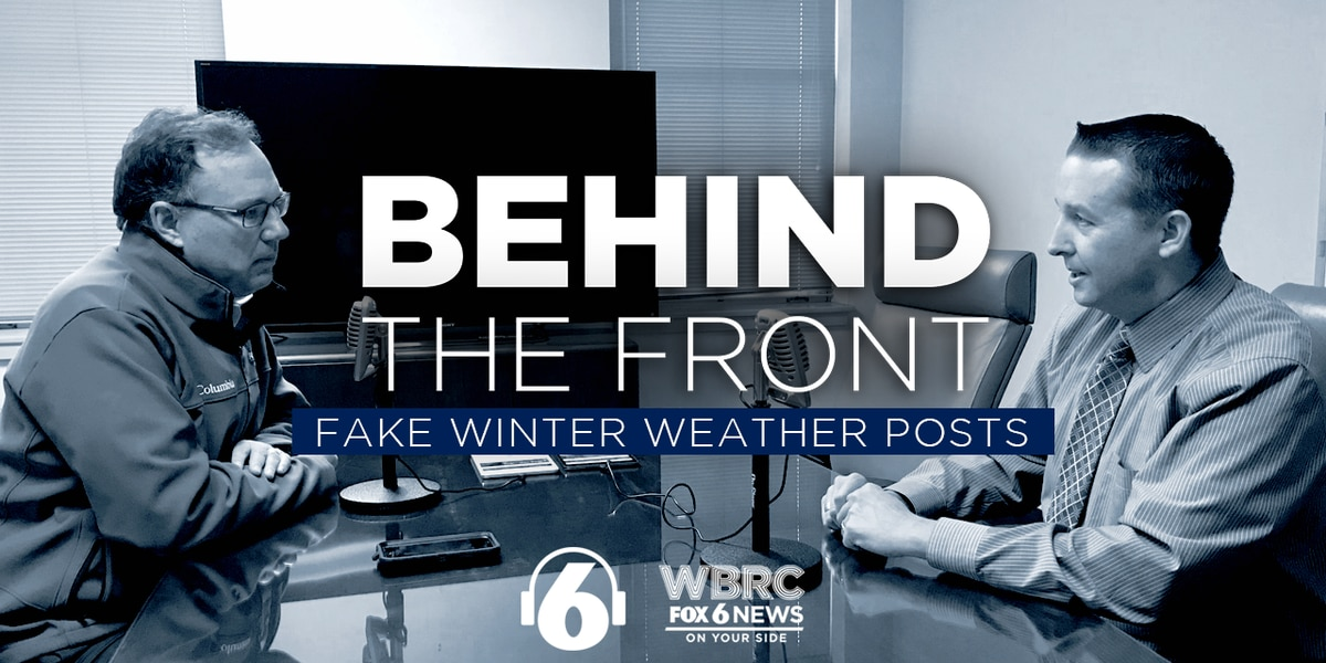 Behind the Front: Fake Winter Weather Posts
