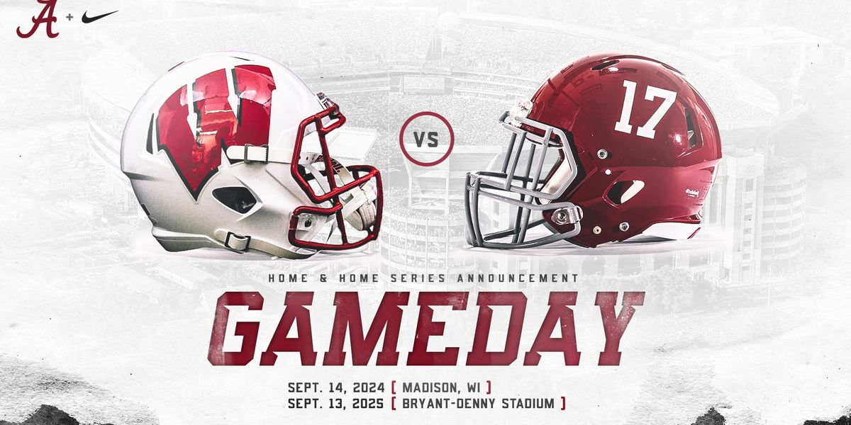 Alabama, Wisconsin announce home-and-home series