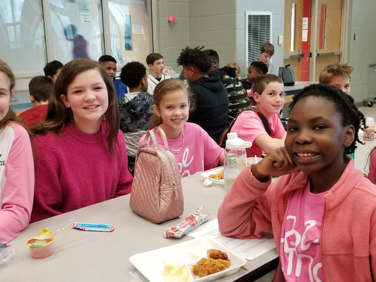 Be Kind and rock your pink shirts!