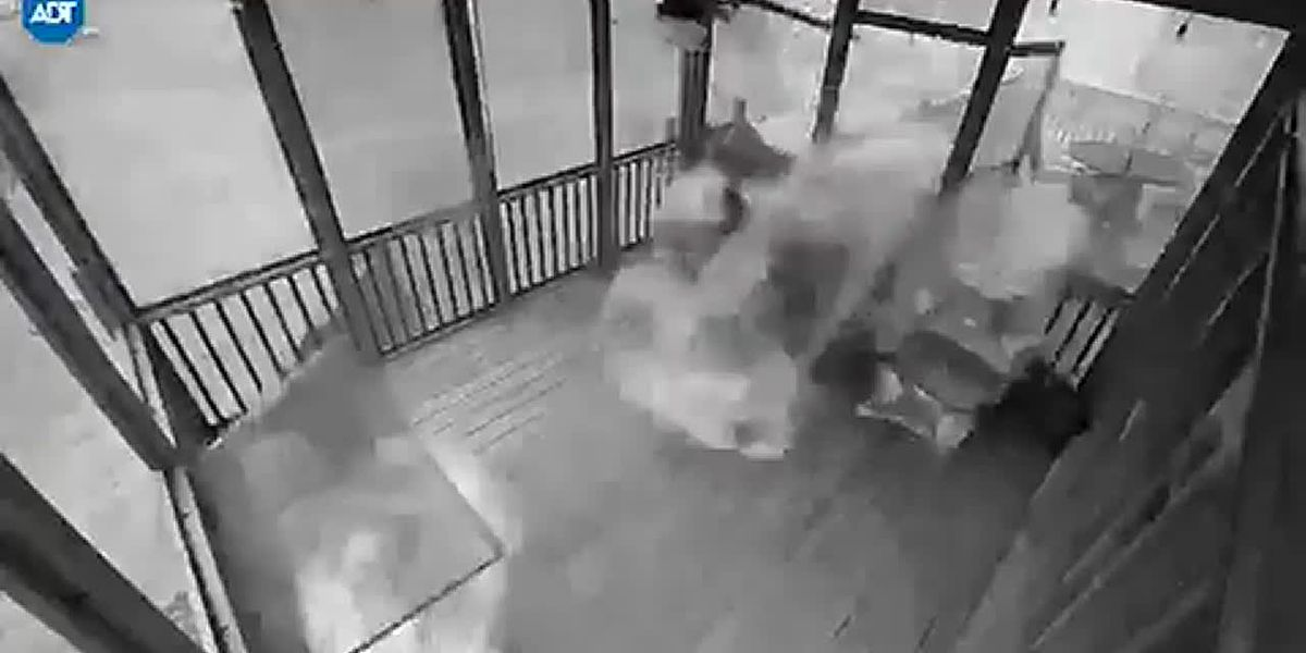 WOW! Homeowner released new security camera footage of tornado that hit Eagle Point