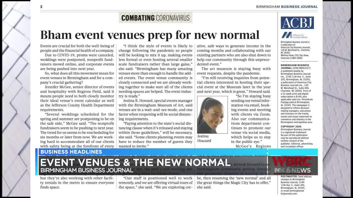 Event Venues And The New Normal