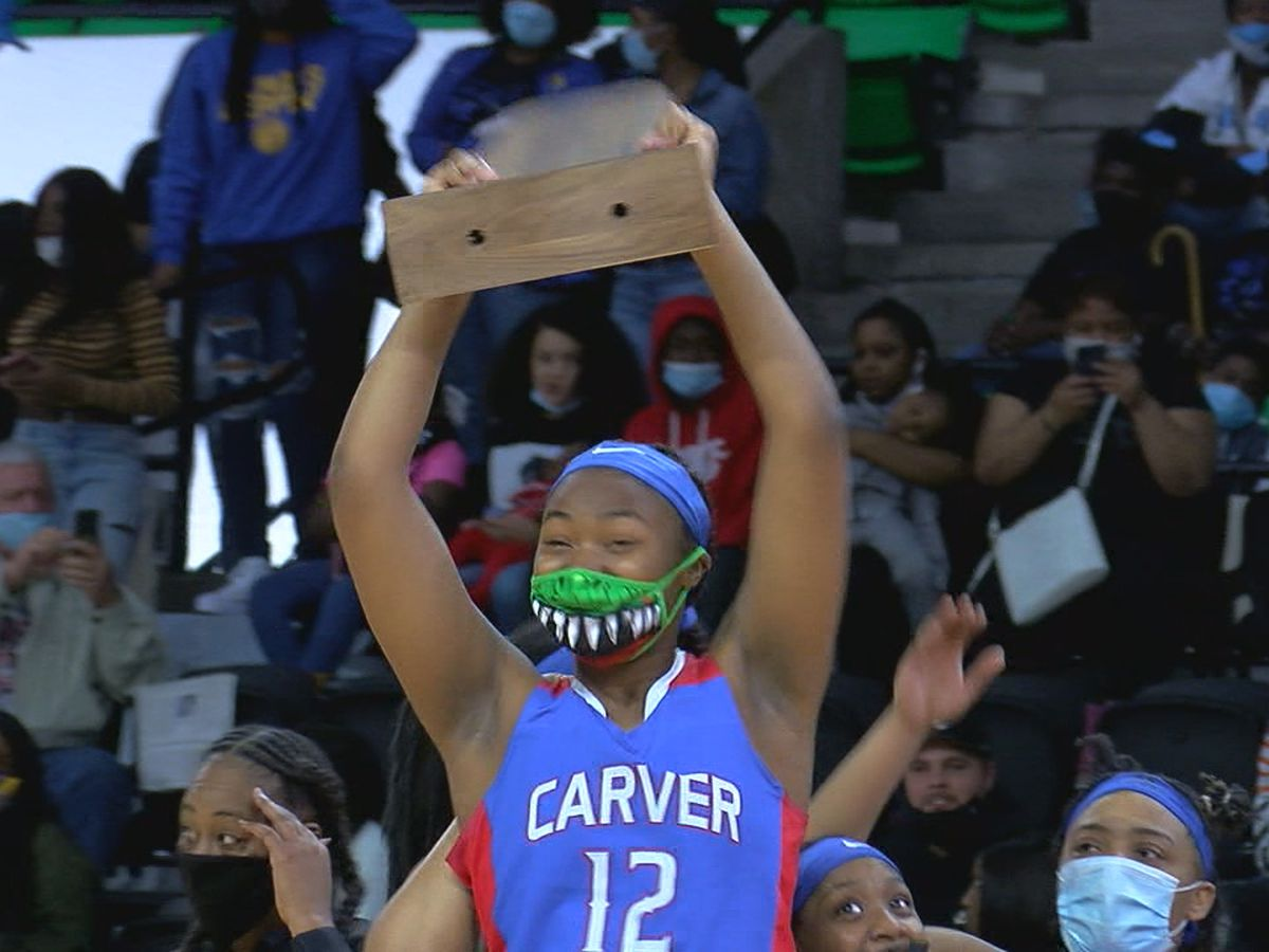 Carver girls win first-ever basketball championship