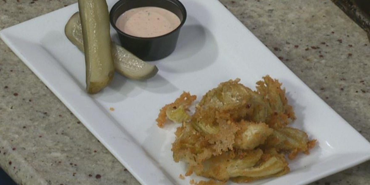 Fried Artichokes with Asian Ranch