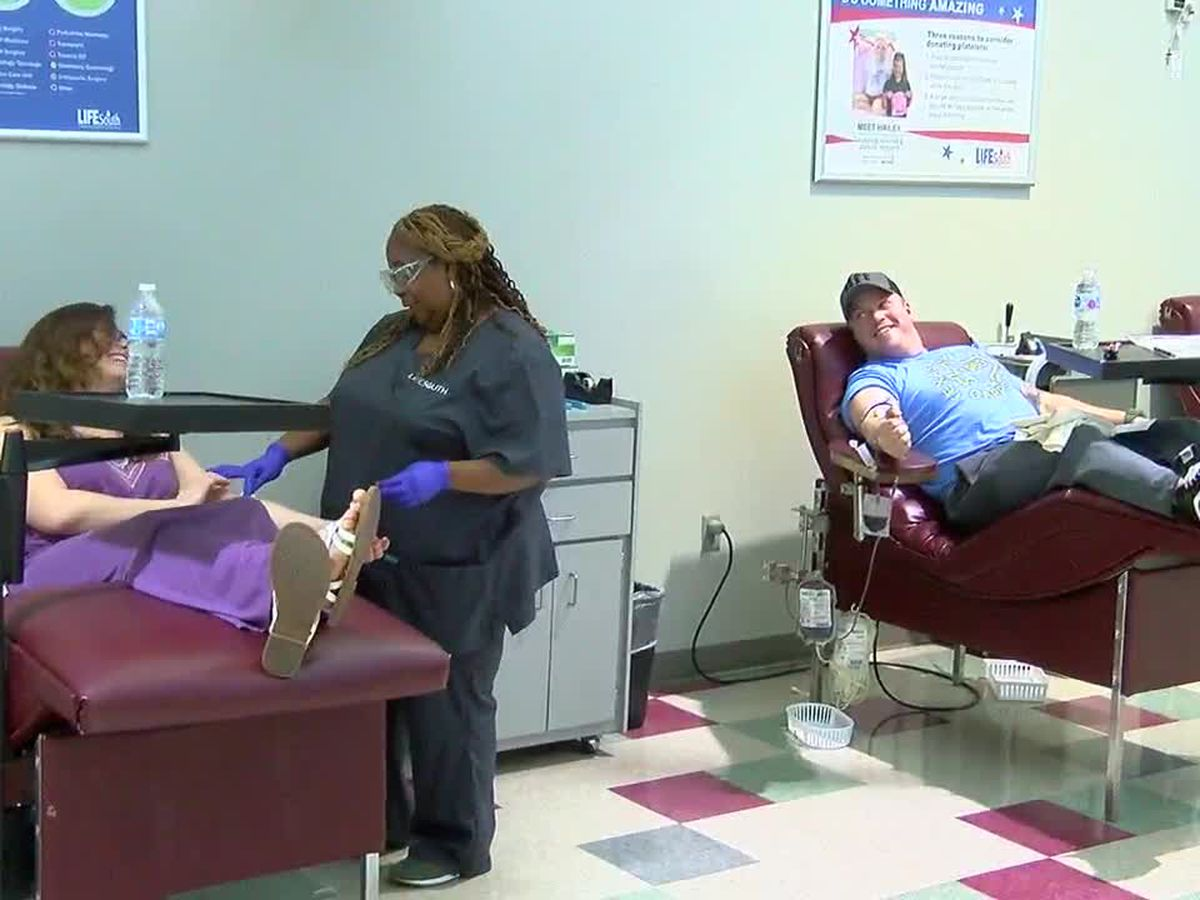 Donating blood is as easy as one, two, three or 30 minutes of your time