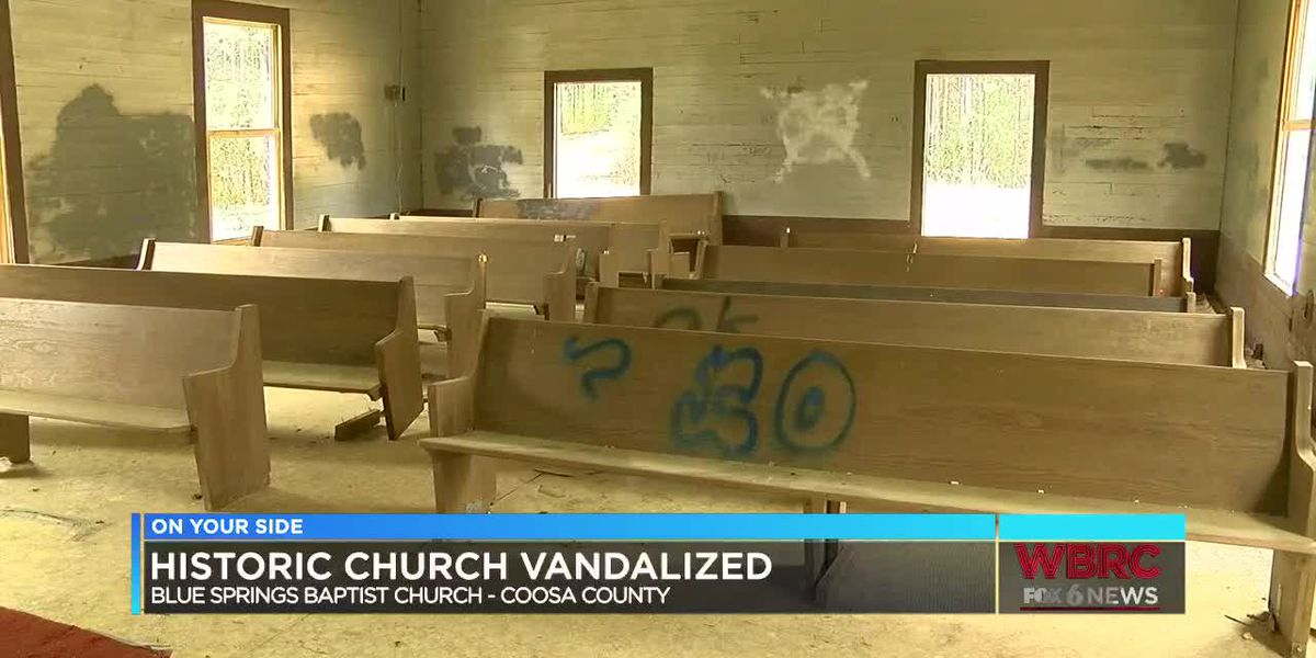 Historic Coosa Co. church vandalized