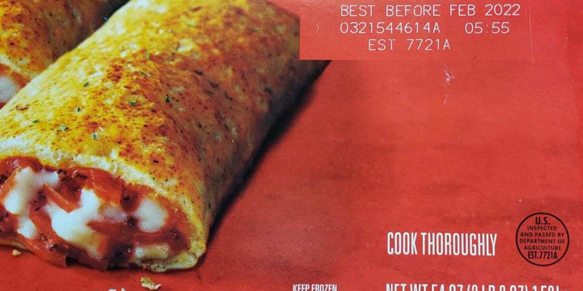 Hot Pockets recall, some could contain pieces of glass, plastic