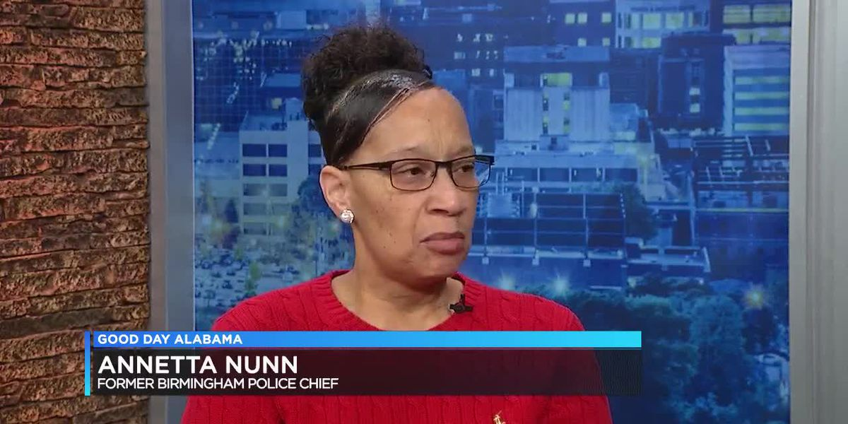 Former B'ham Police Chief Annetta Nunn on officer killed in the line of duty