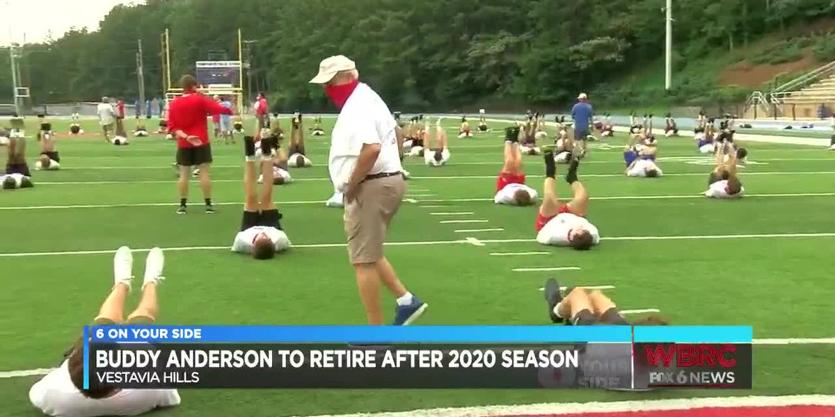 Buddy Anderson to Retire after 2020