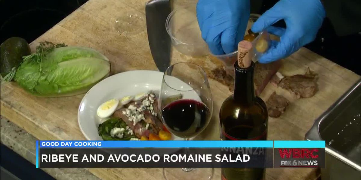 Bright Star: Ribeye and Avocado Romaine Salad