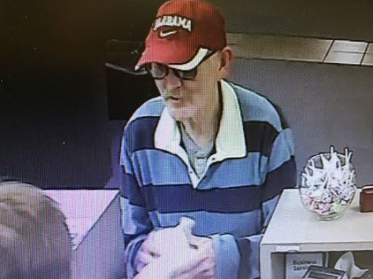 Man attempts to rob banks in Gardendale, Homewood