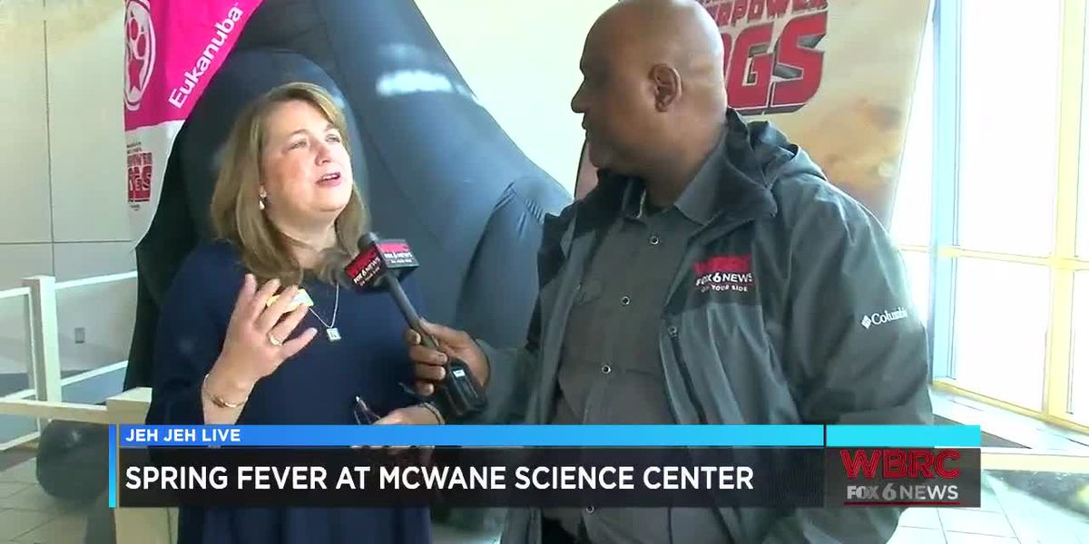 Jeh Jeh Live: Spring Fever at McWane Science Center