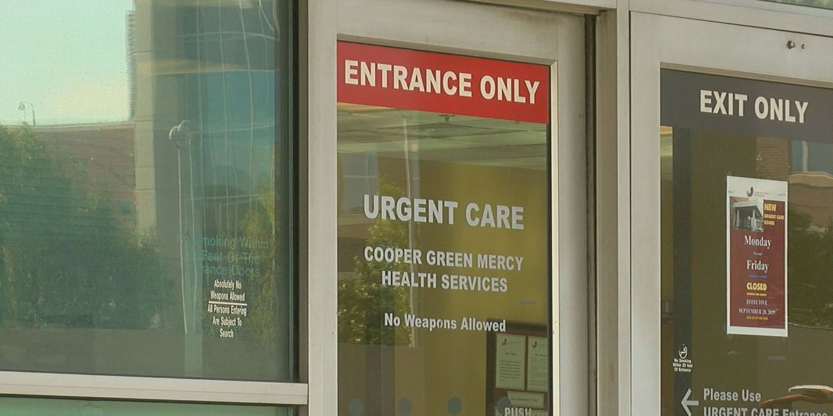 Cooper Green is closing its urgent care center on weekends