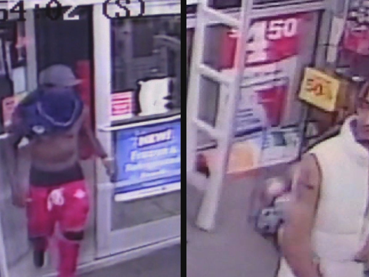Bessemer police looking for two robbery suspects