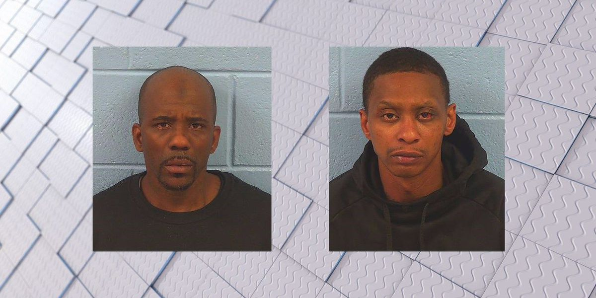 Two men arrested, accused of burglarizing Rainbow City service station
