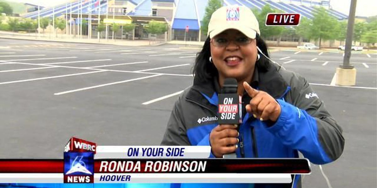A little rain won't stop our Shred-a-thon! Ronda joins us live from the Hoover Met on Good Day!