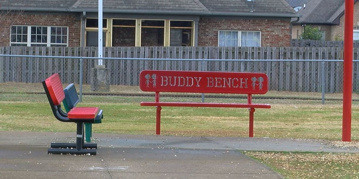 Alabaster students learn the value of friendship with 'buddy benches'