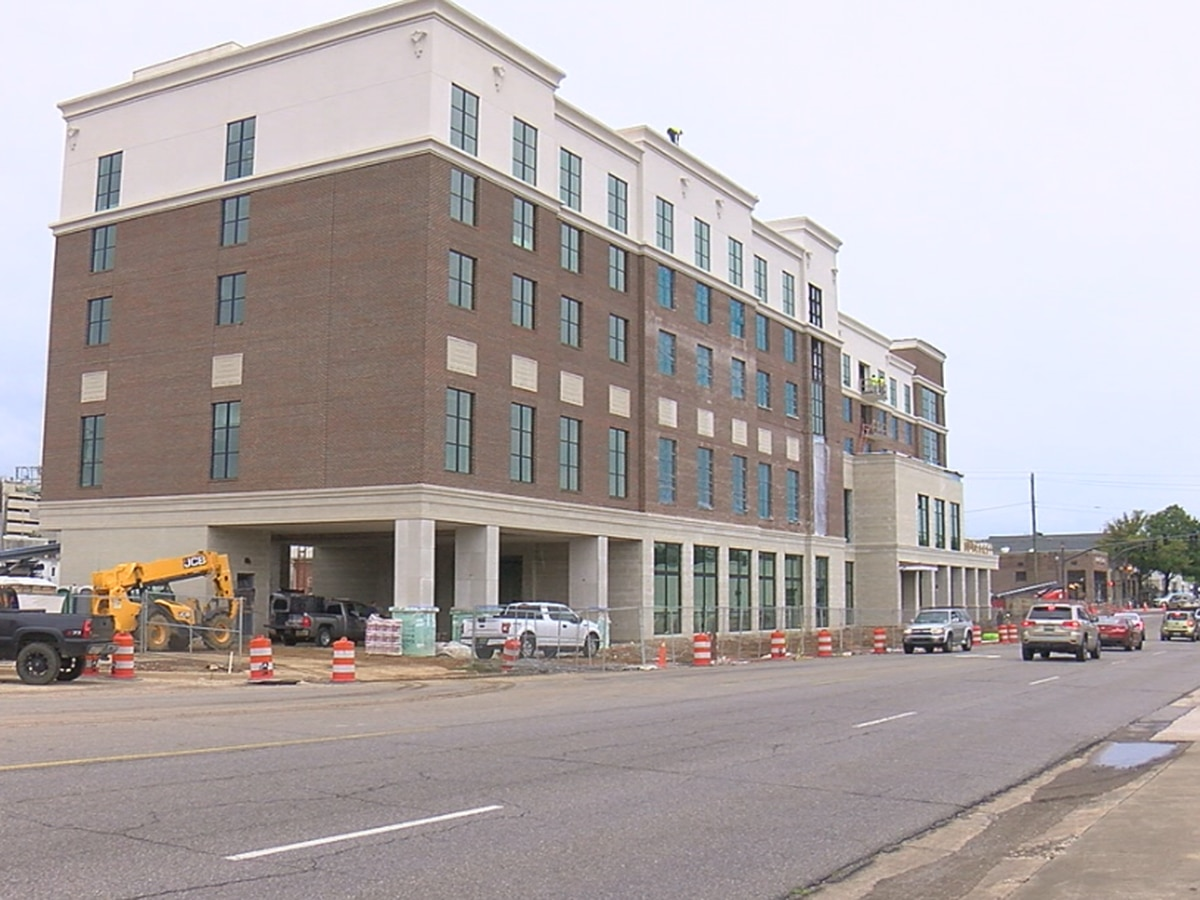 New Homewood hotel expected to open in January