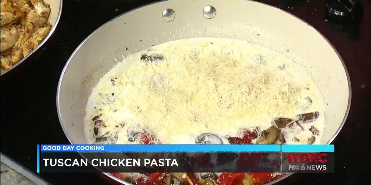 Yo Ma Ma's: Tuscan Chicken Pasta
