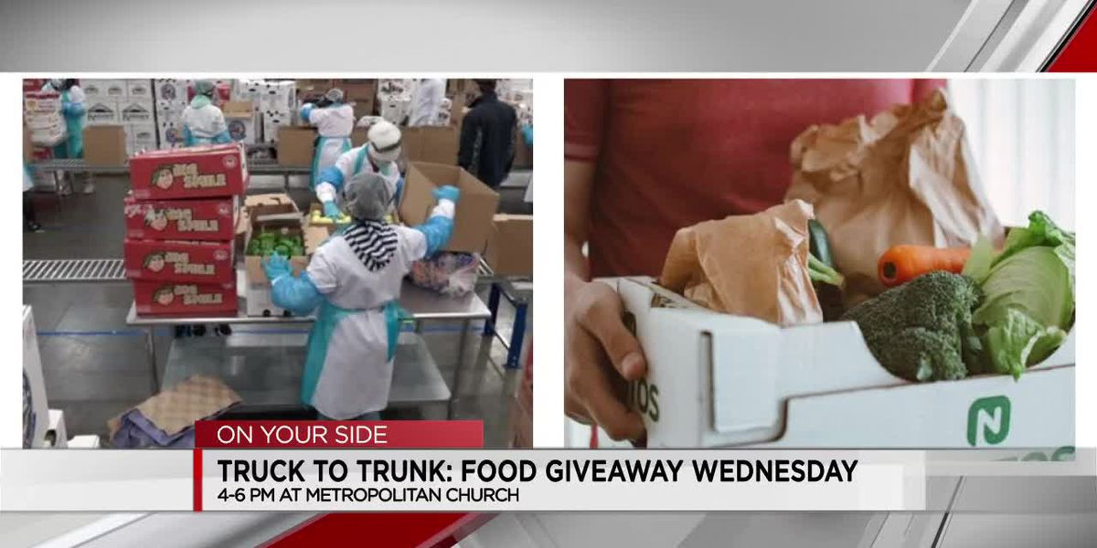 Truck to Trunk: Food giveaway Wednesday