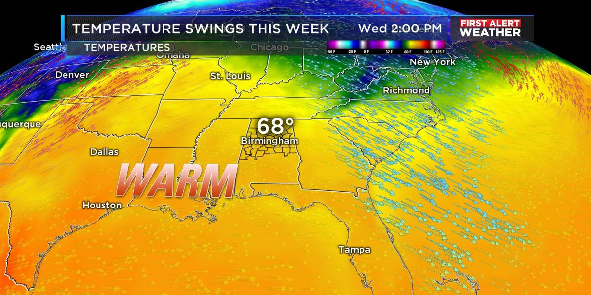 Mild weather finally returns by midweek