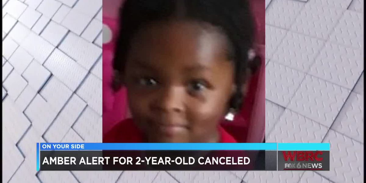 AMBER Alert for Calhoun Co. toddler canceled