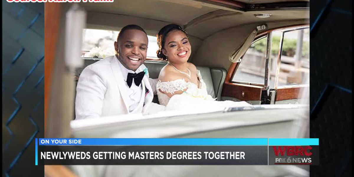 Married UAB couple gets masters degrees