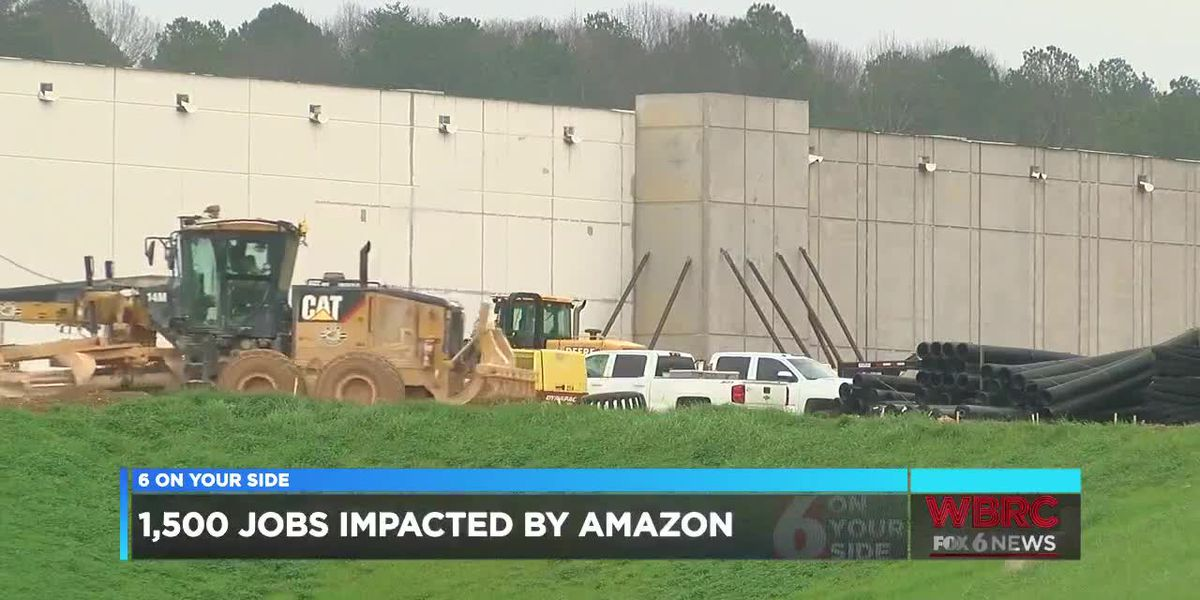 1,500 jobs impacted by Amazon