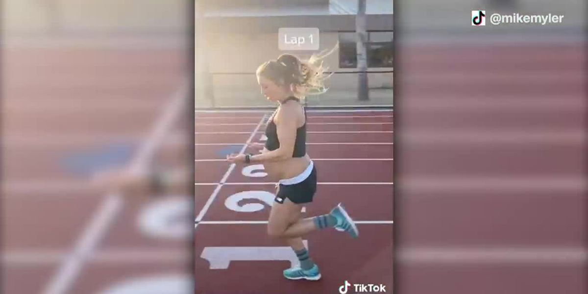 Woman runs under 6-minute mile while 9 months pregnant
