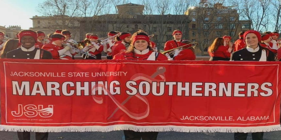 Jacksonville State band bus burglarized in Italy