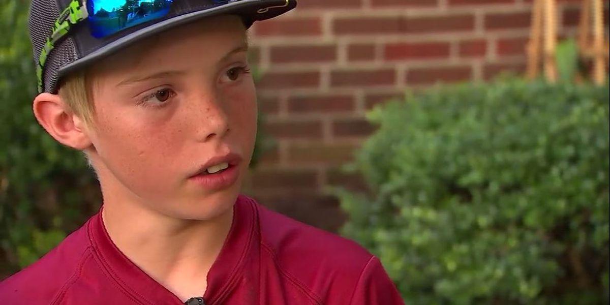 Machete-wielding 11-year-old describes fighting off home intruder