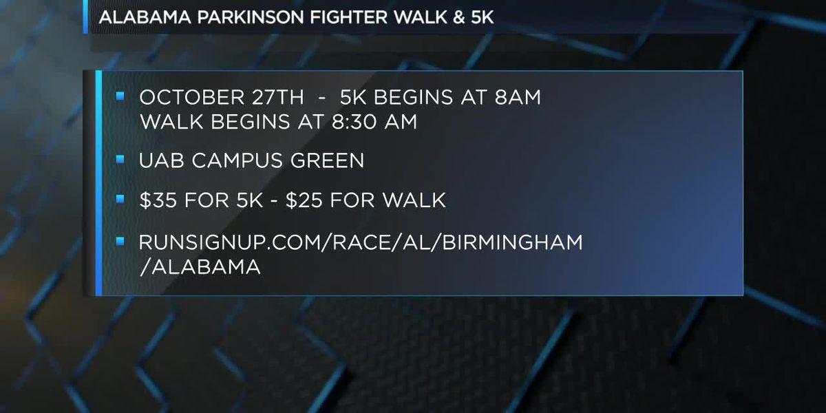 Alabama Parkinson Fighter Walk & 5K