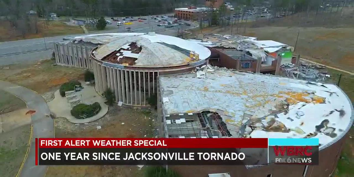 One year since the Jacksonville tornado