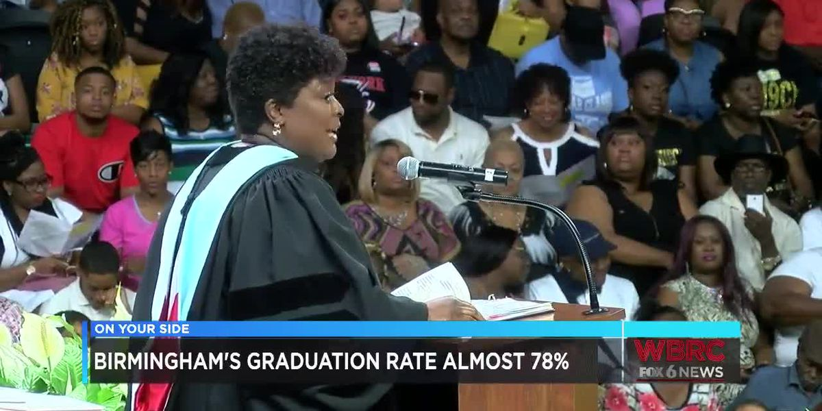 Birmingham graduation rate almost 78 percent