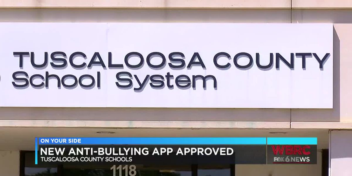 Tuscaloosa Co. School System has a new anti-bullying app