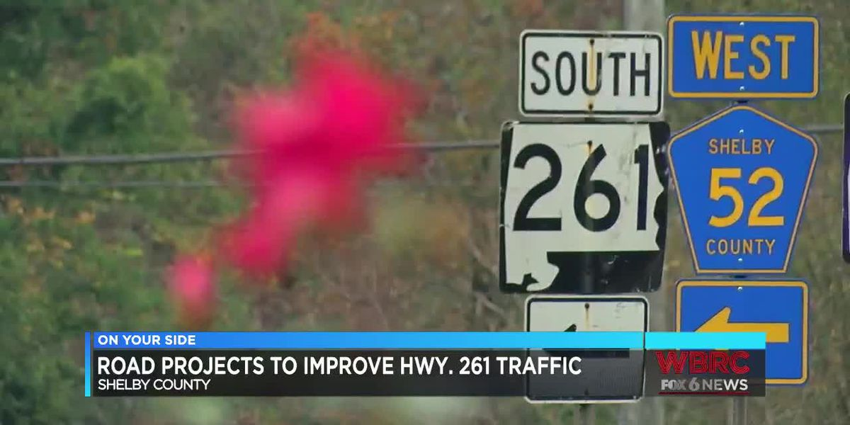 Road projects to improve Highway 261 traffic in Shelby Co.
