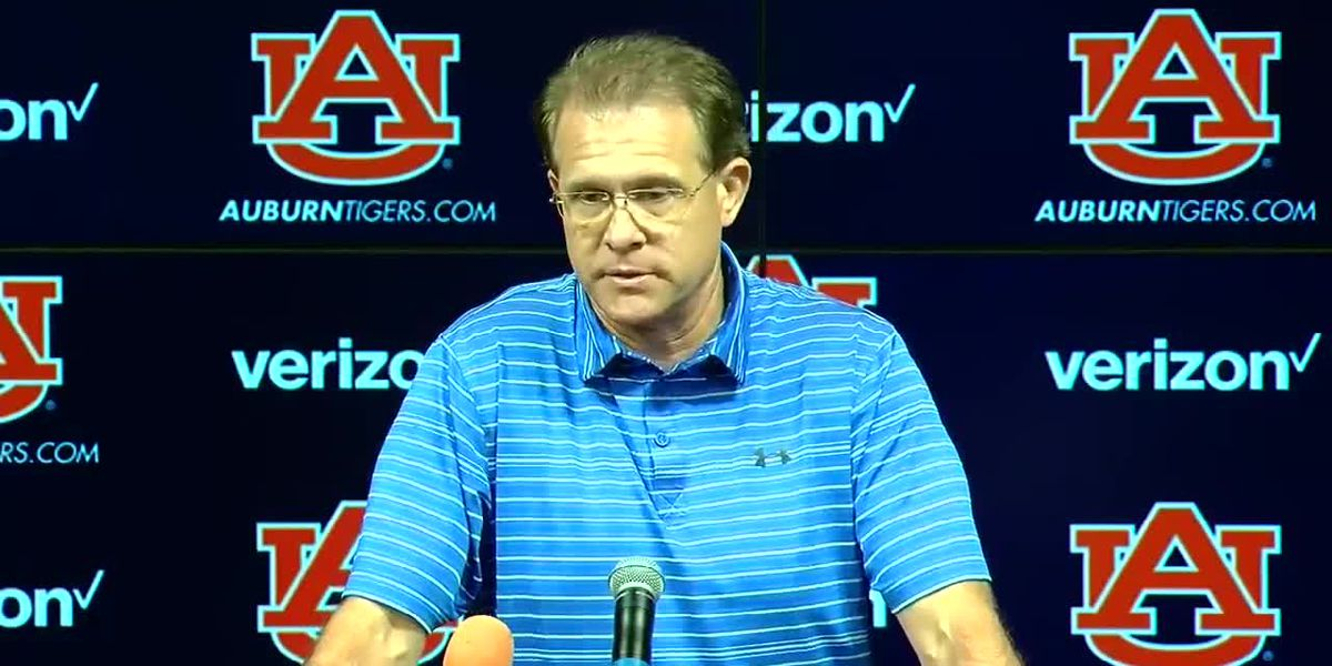 Gus Malzahn discusses Auburn's game with Mississippi State