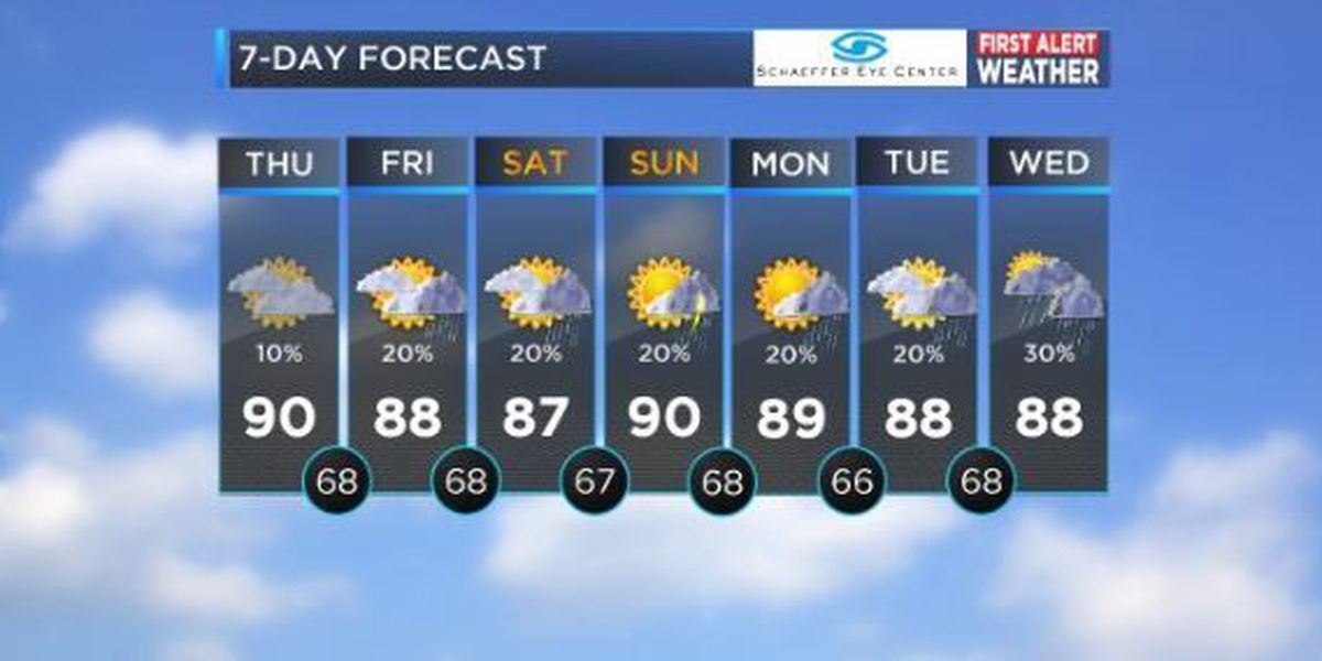 Is it hot enough for you? Ronda Robinson will tell you how to beat the heat at 7 a.m.