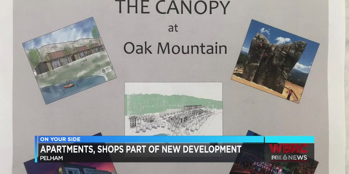 New development near Oak Mountain Amphitheater in Pelham