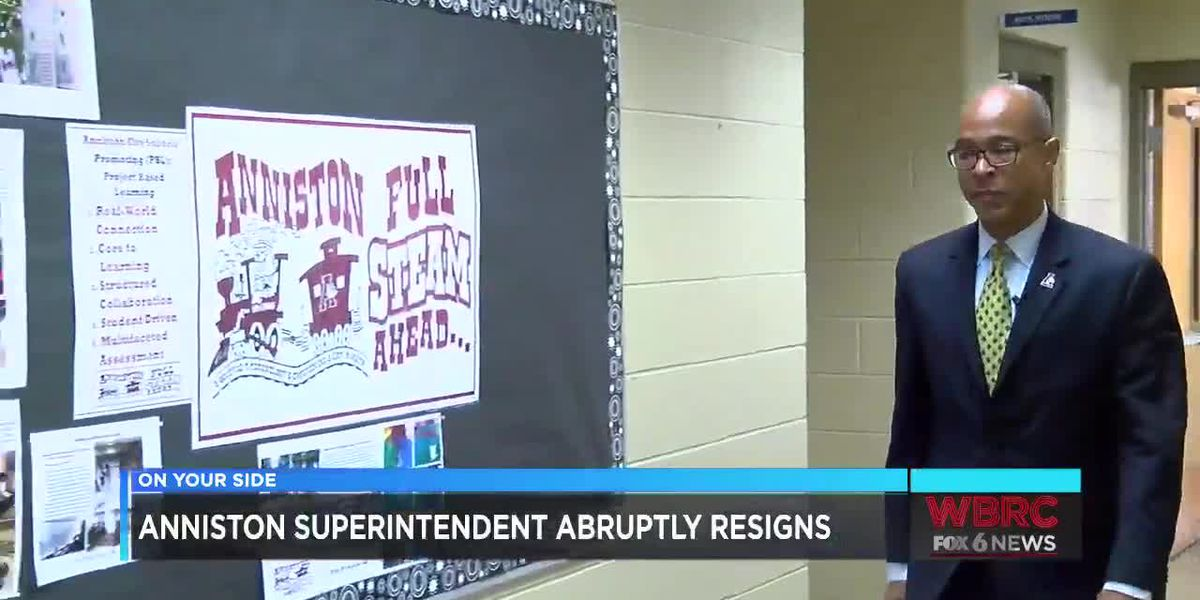 Anniston superintendent abruptly resigns