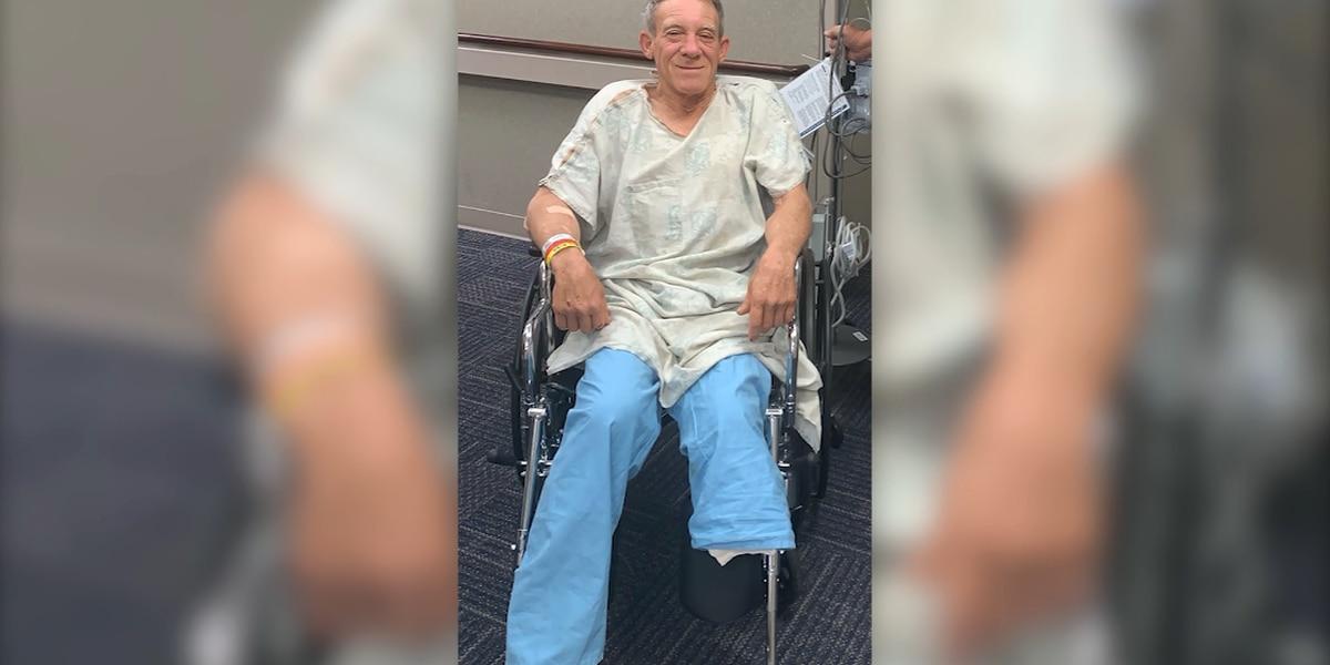 Farmer saws off own leg with pocket knife, crawls for help