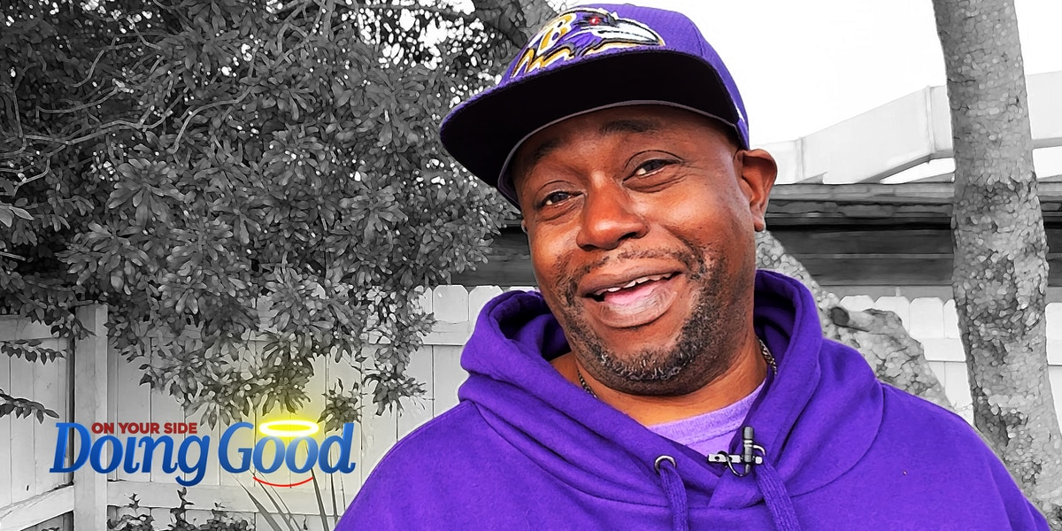 """Calvin Tucker """"Doing Good"""" for Homeless Cats"""
