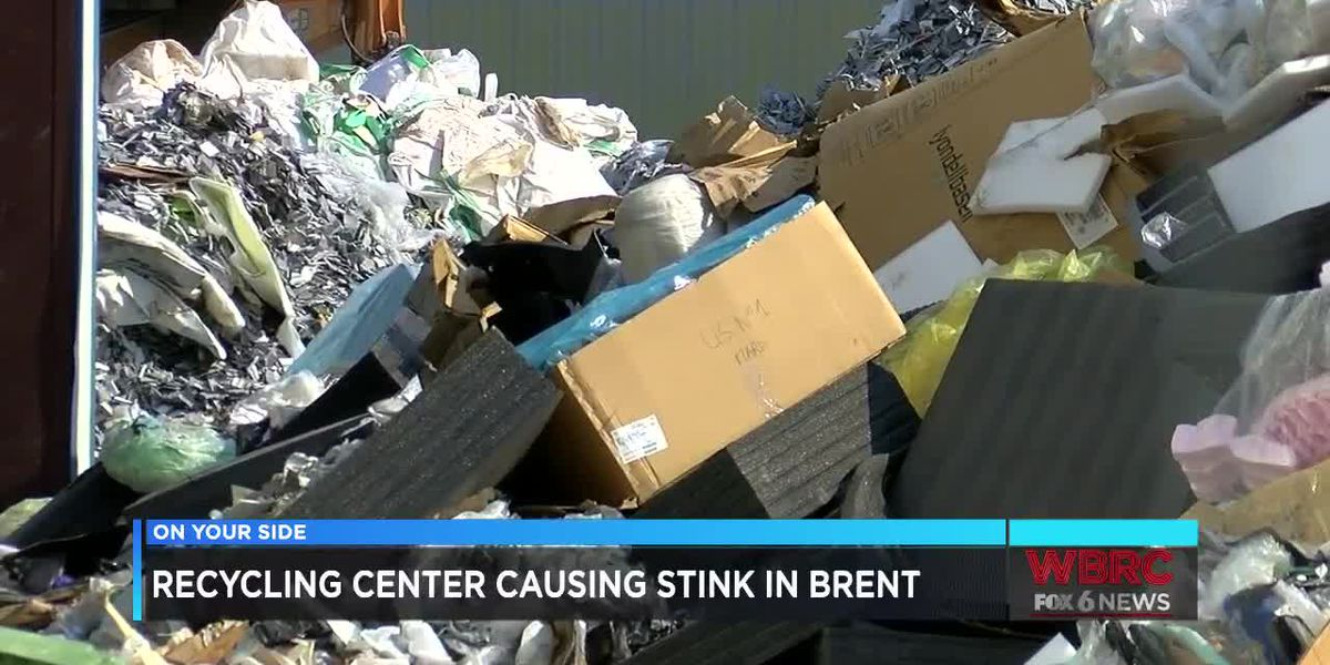 Recycling center causing stink in Brent