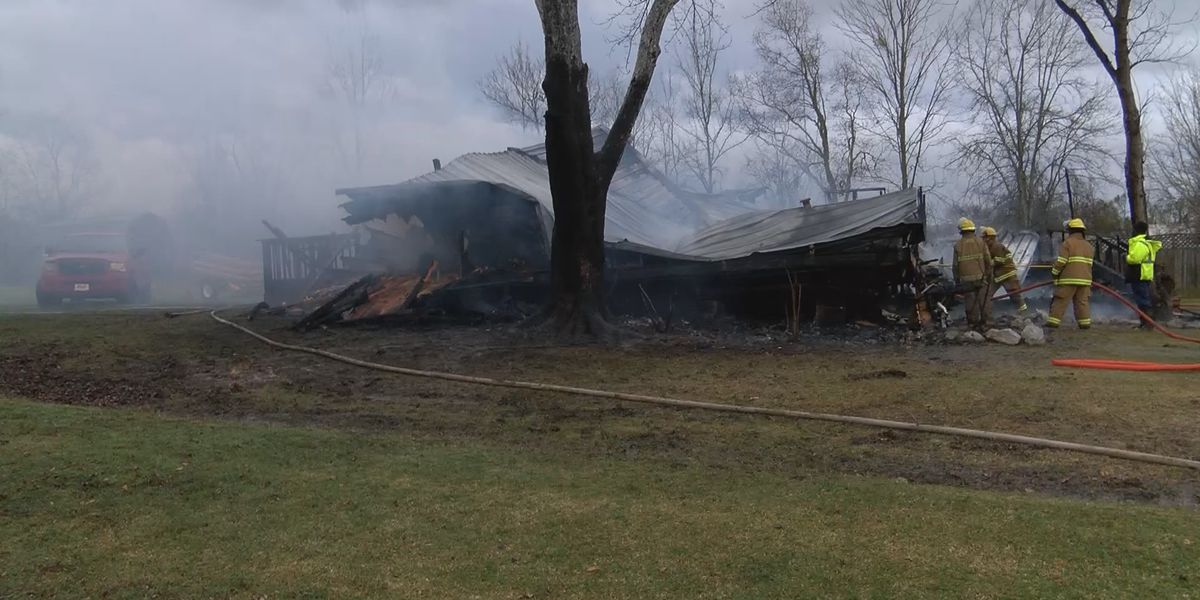 Family loses home after lightning strike